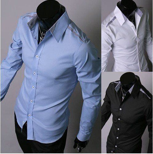 White Cotton Shirts For Mens