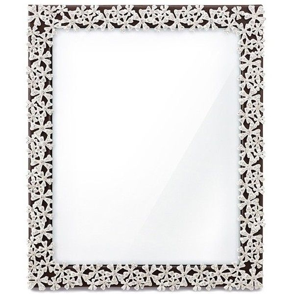 L Objet Garland 8r Frame 595 Liked On Polyvore Featuring Home Home Decor Frames Decoration Borders Picture Frame Platin Frame Garland Picture Frames