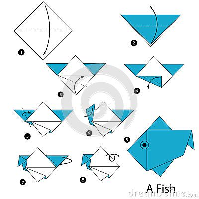 Origami Money Fish 3 Origami Fish Instructions Step By Step