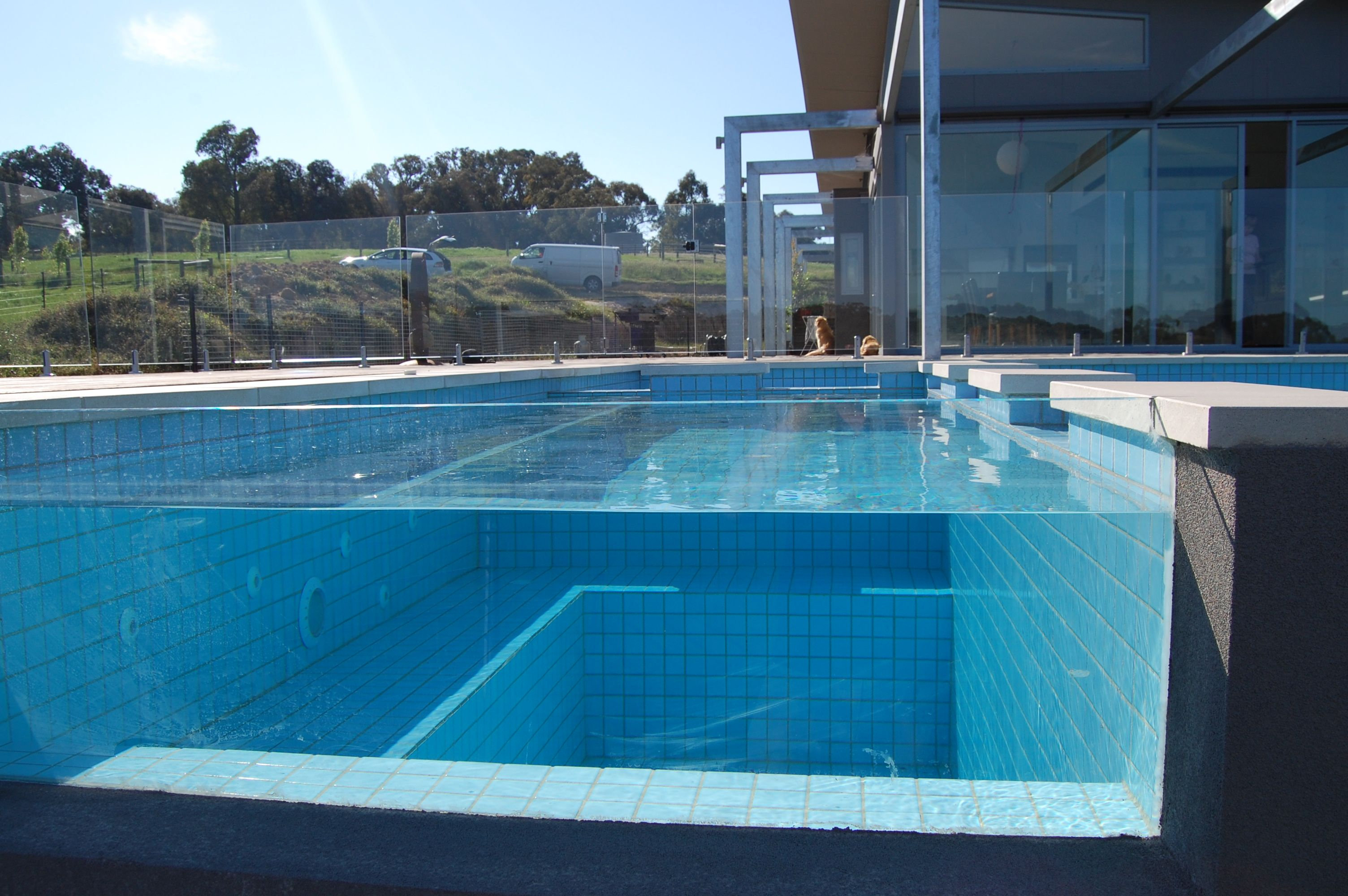 Pool Wasserreinigung Perfect Glass Swimming Pool With Click On The Images To