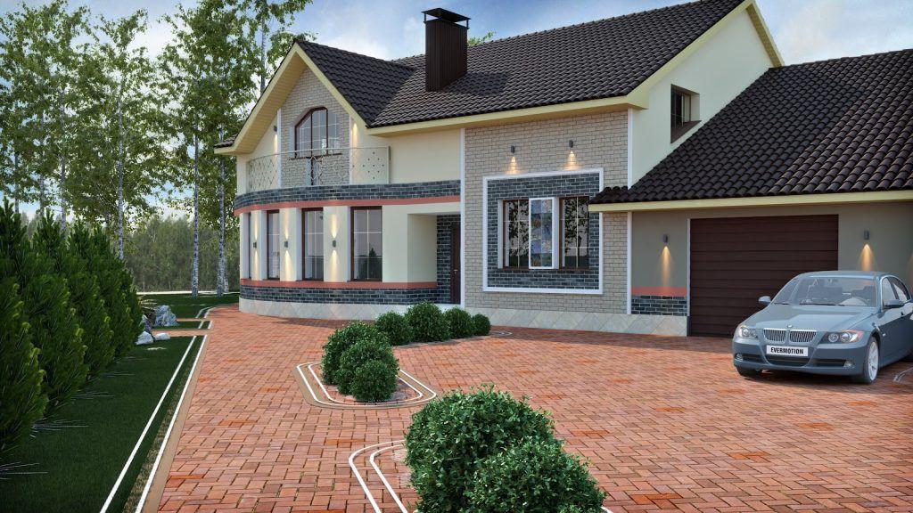 Entwerfen Sie Die Außenseite Ihres Hauses Dekoideen