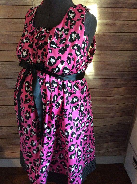 Maternity Hospital Gown- pink cheetah | Pink, Pink cheetah and ...