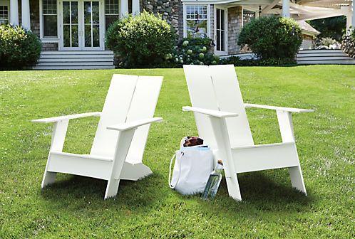 Emmet Lounge Chair Ottoman Modern Outdoor Furniture