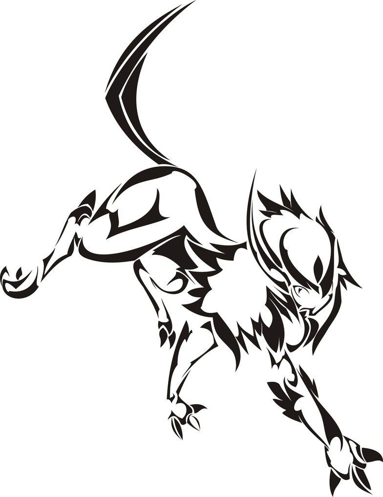 Pokemon Absol Tattoo Idea | Tribal pokemon, Pokemon tattoo ...