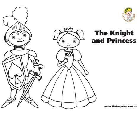 fantasy knights princesses coloring pages - photo#38