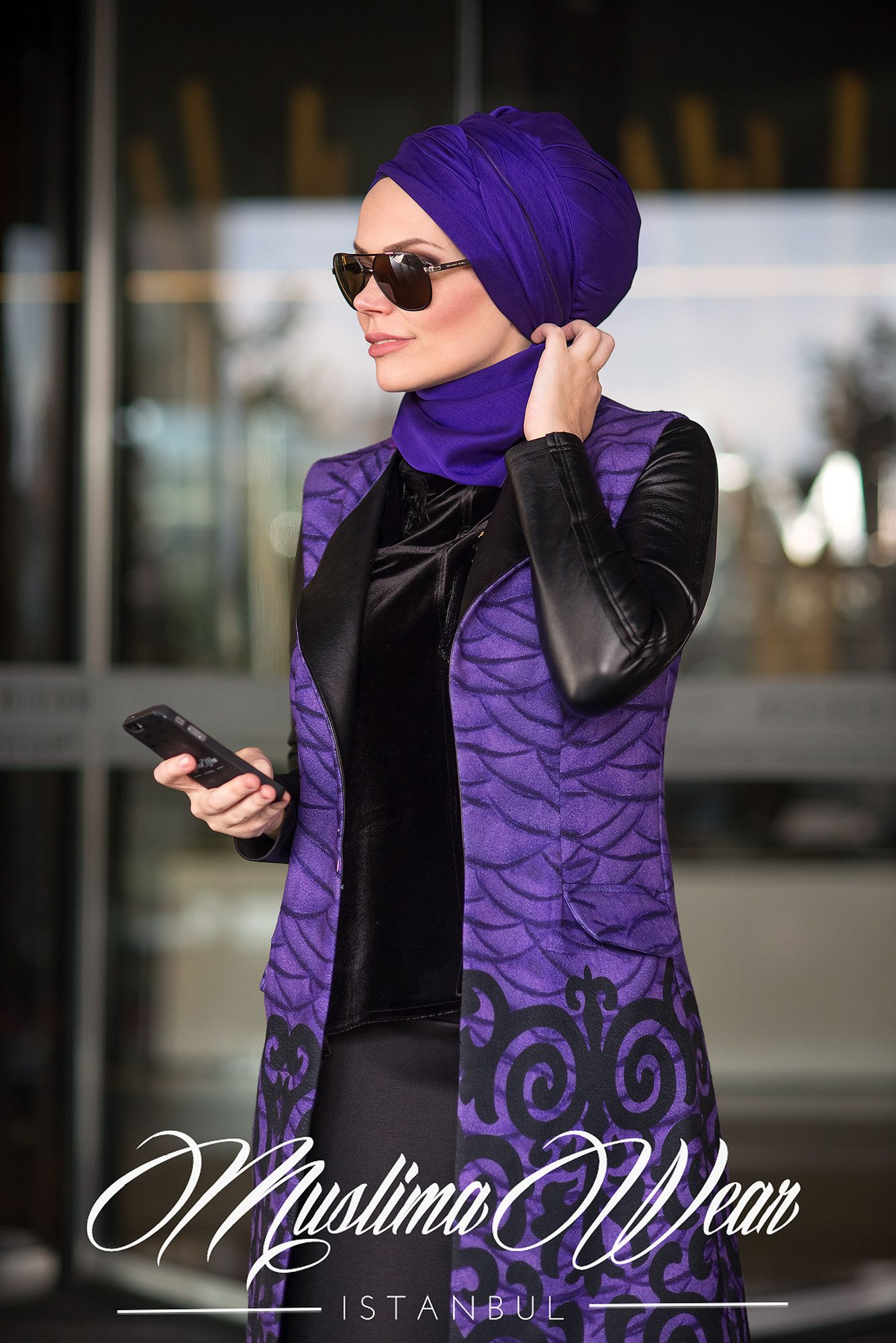 Muslima Wear-2016 VIOLA Waistcoat | Moda stilleri