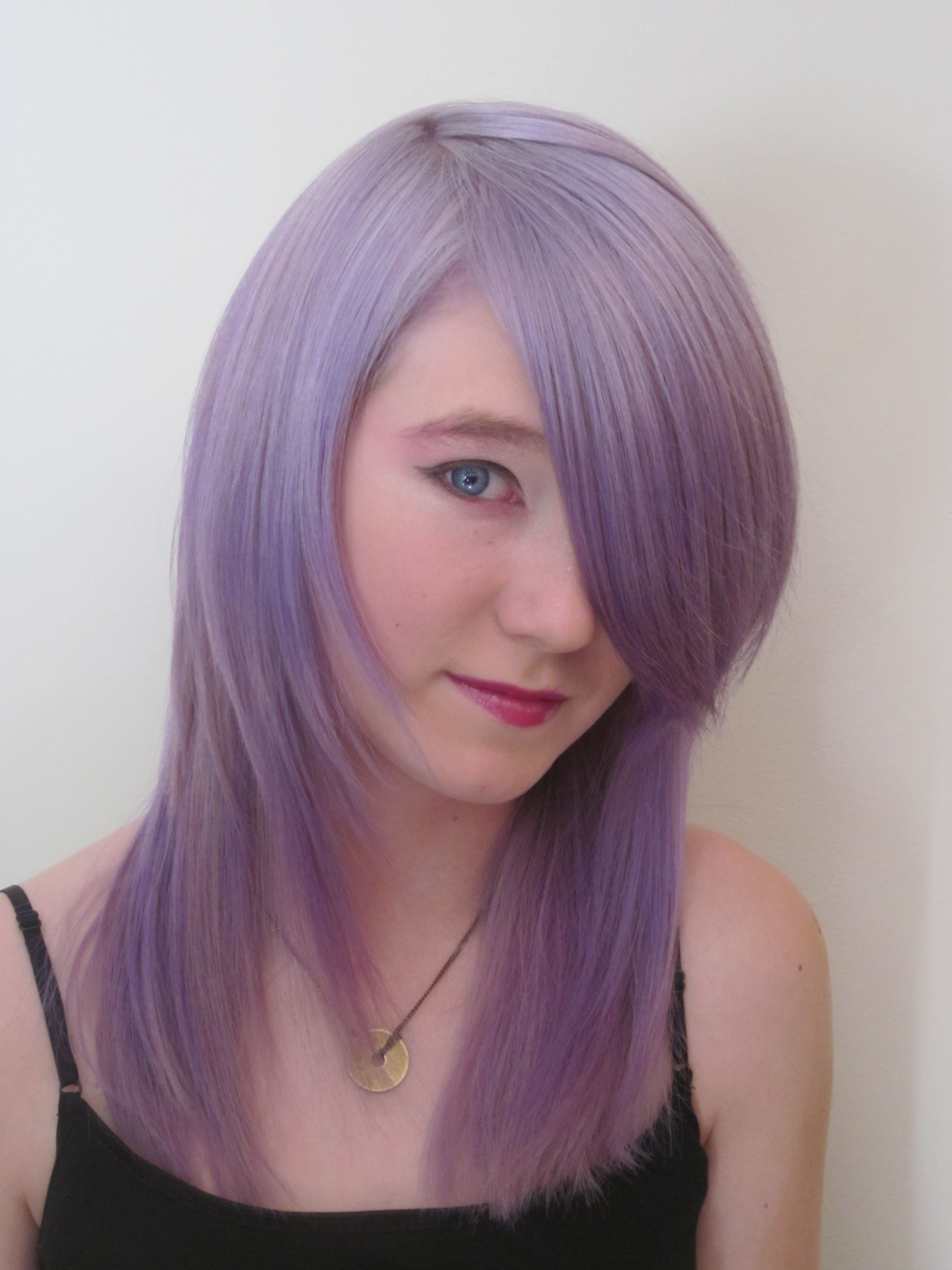Silvery Violet Vivid Combo From Pravana My Hair Color Loves In