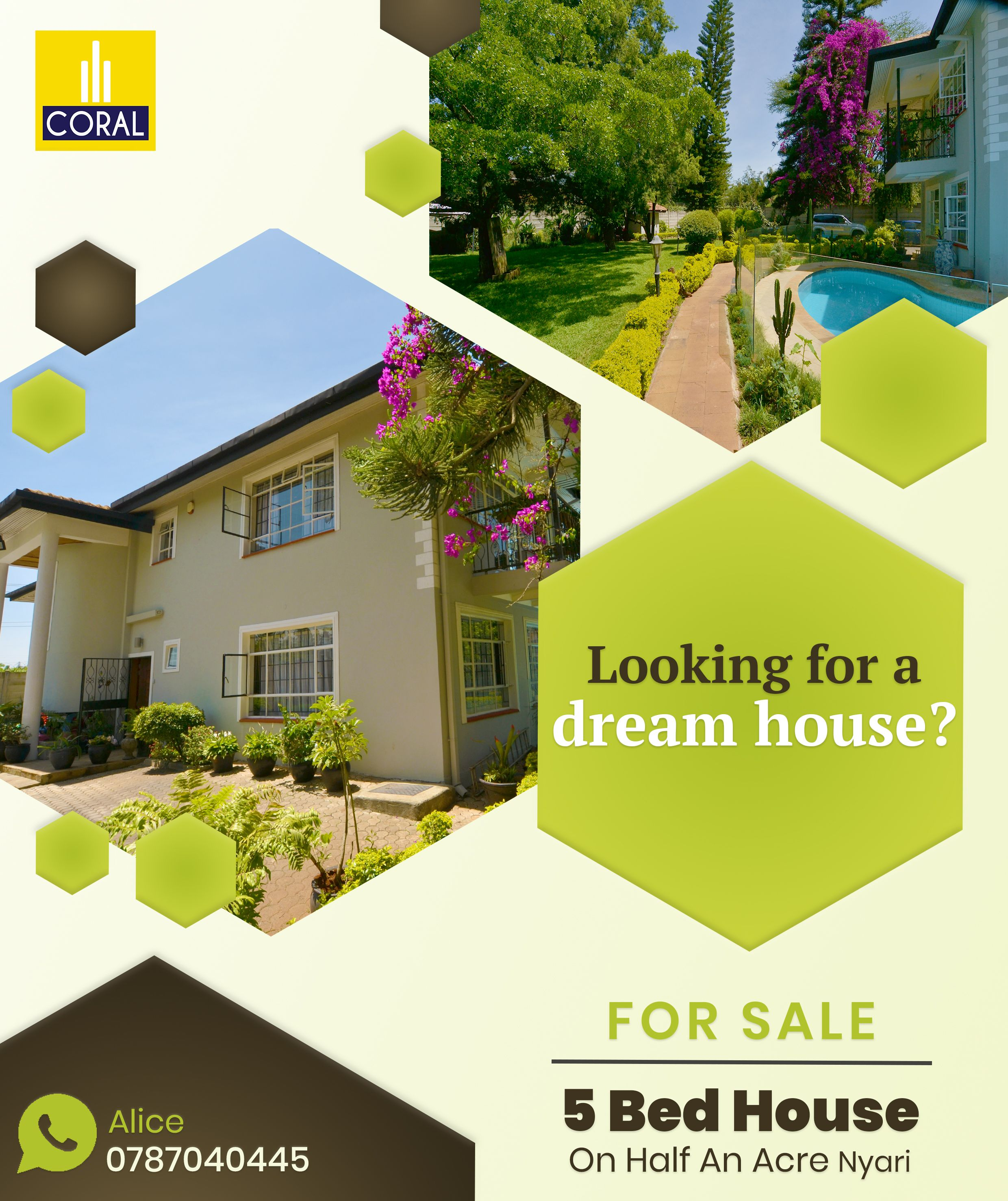 5 Bedroom House On Half An Acre For Sale In Nyari East in