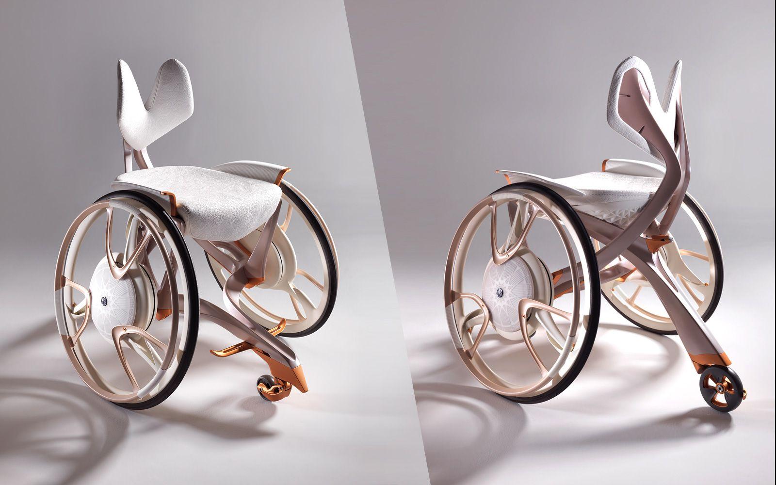 차세대 전동 휠체어 컨셉트 모델 'Taurus'와 '02GEN' - 이미지