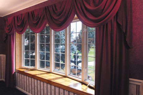 Best 25 bow window curtains ideas on pinterest curtains for Best window treatments for casement windows