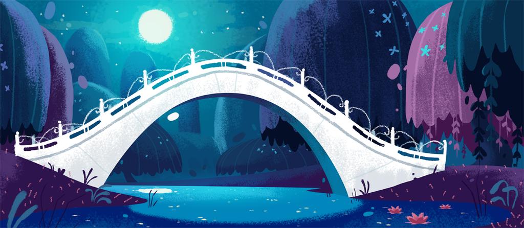 The White Bridge by coryosterberg