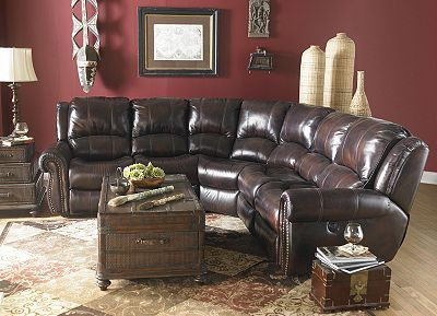 Leather Power Recline Less Than 2000 00 Furniture Dream Furniture Leather Reclining Sectional