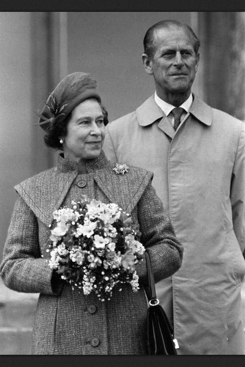 QE II and her Prince