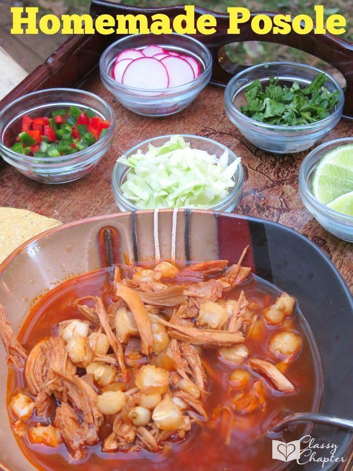Homemade posole recipe how to make posole mexican food mexican homemade posole recipe how to make posole mexican food mexican food recipes homemade mexican food chicken food recipes pinterest recetas mexicanas forumfinder Images