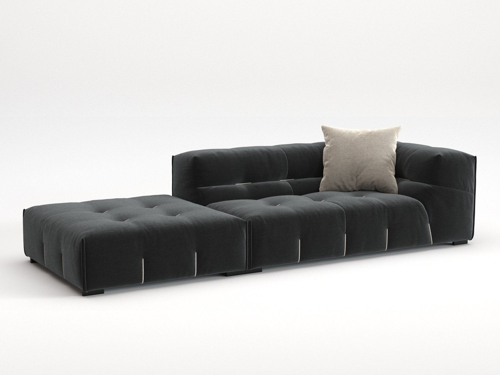 Tufty Too Comp02 3d Model By Design Connected Sectional Sofa Lobby Furniture Design