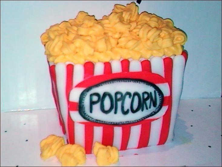 Cake Decorating: Popcorn!