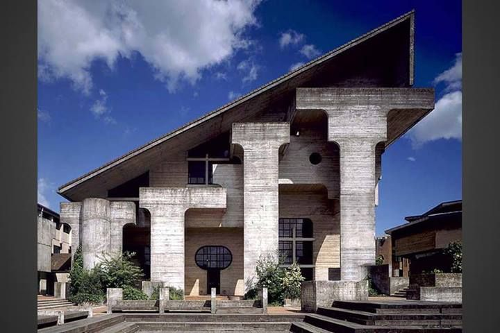 Place des Sciences, Louvain la Neuve (BE) 1975. Atelier d'architecture GENVAL