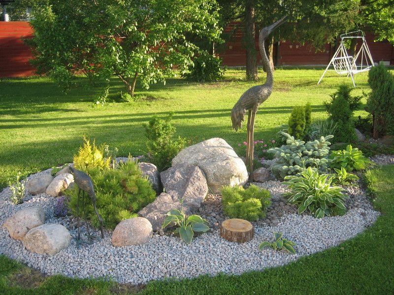 renovacin decoracin de jardin pequeo con piedras