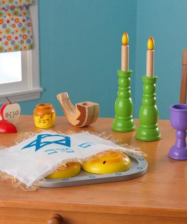 Look at this #zulilyfind! Rosh Hashanah Play Set #zulilyfinds
