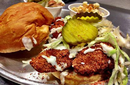 Hot Chicken Restaurants In Nashville Tn Visit Nashville Tn Music City Nashville Food Southern Recipes Restaurant Recipes