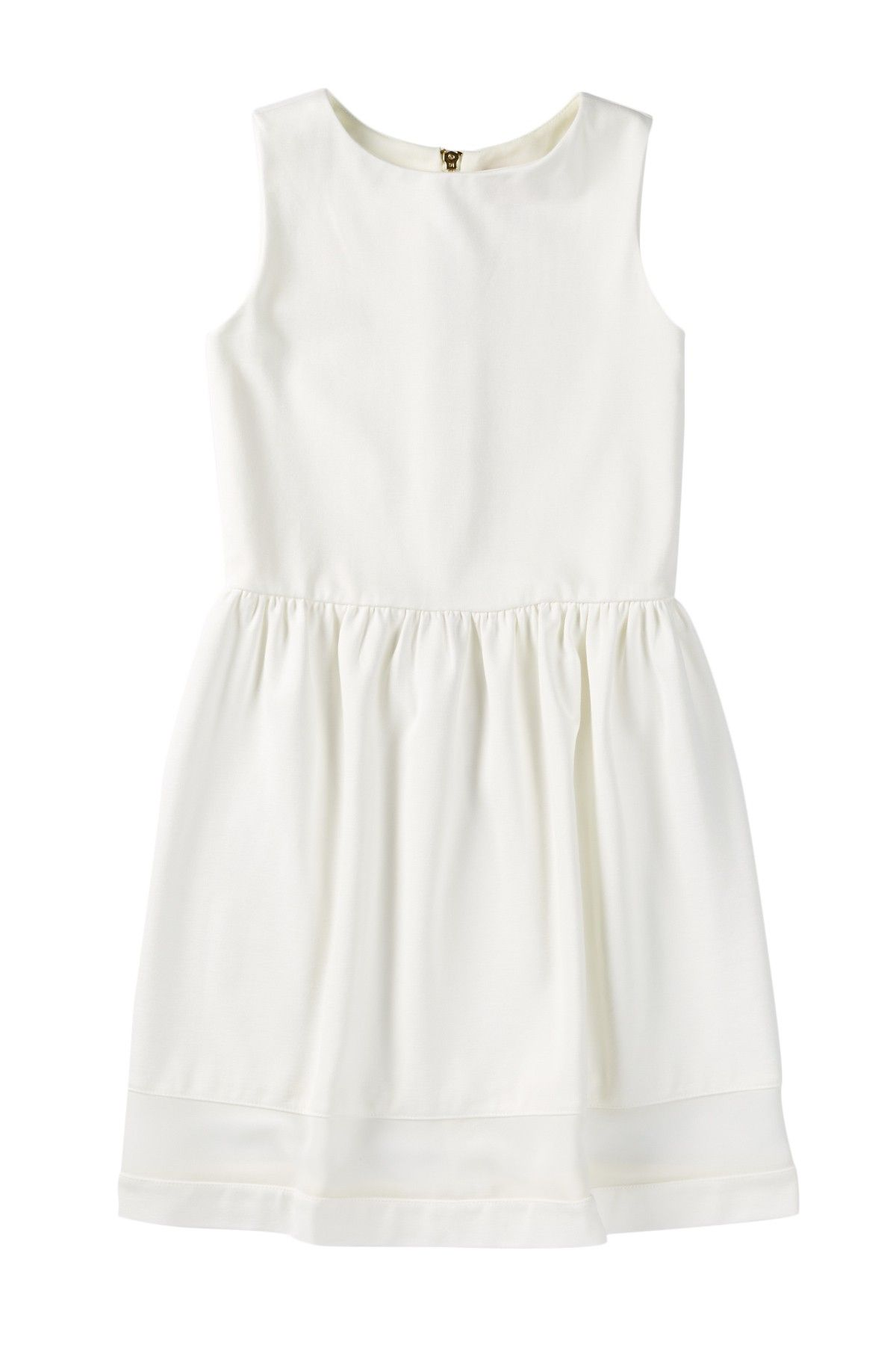 Fit N Flare Organza Striped Bottom Dress (Big Girls) by Love...Ady Girls on @nordstrom_rack