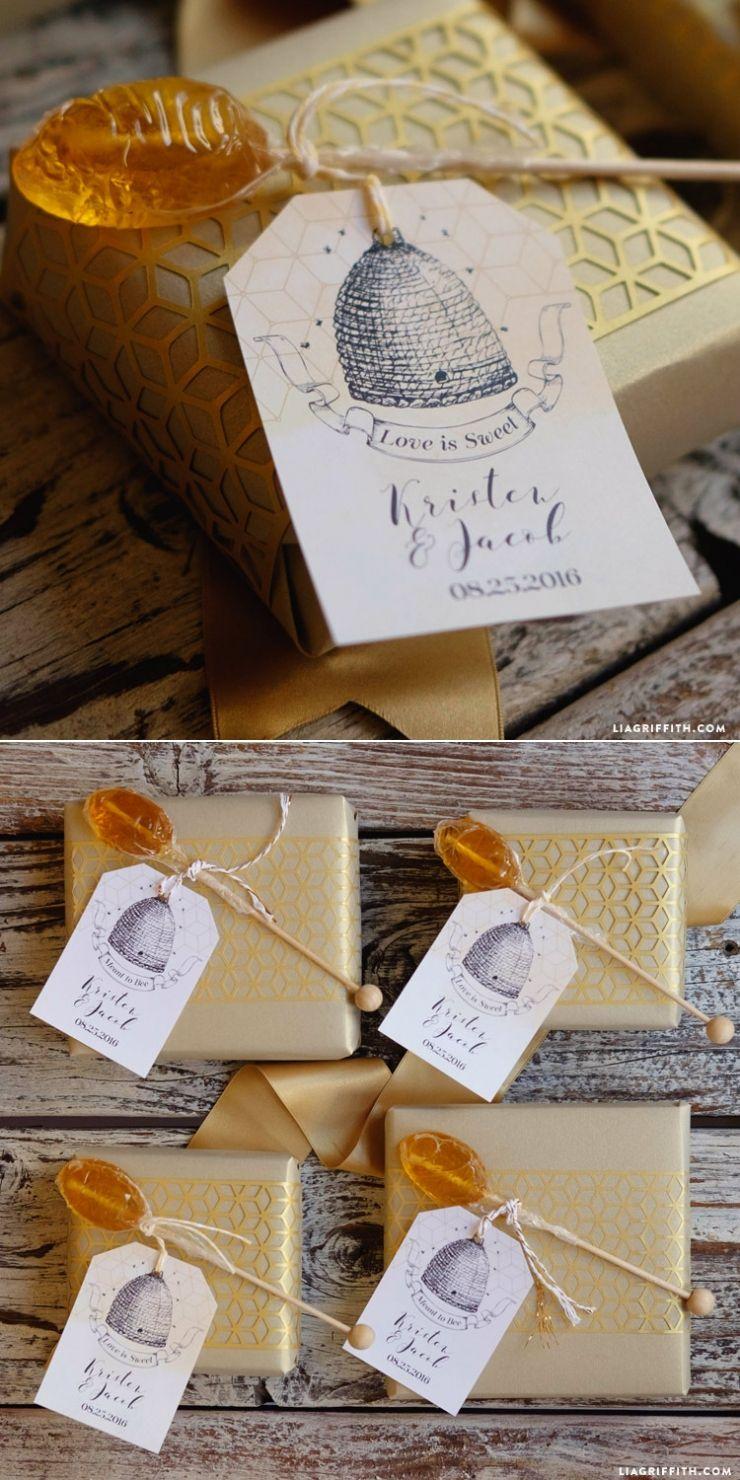 Bumblebee giveaways for wedding