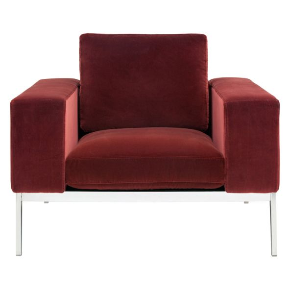Oversized And Opulently Upholstered, The