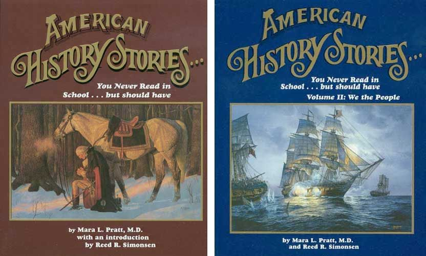 American History Stories, Both Books