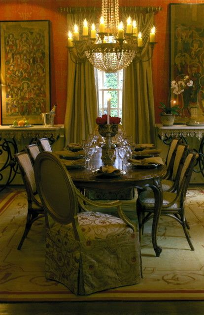 Paint Window & Red Wall In Dining Room Color Theme With Delectable Red Wall Dining Room Inspiration