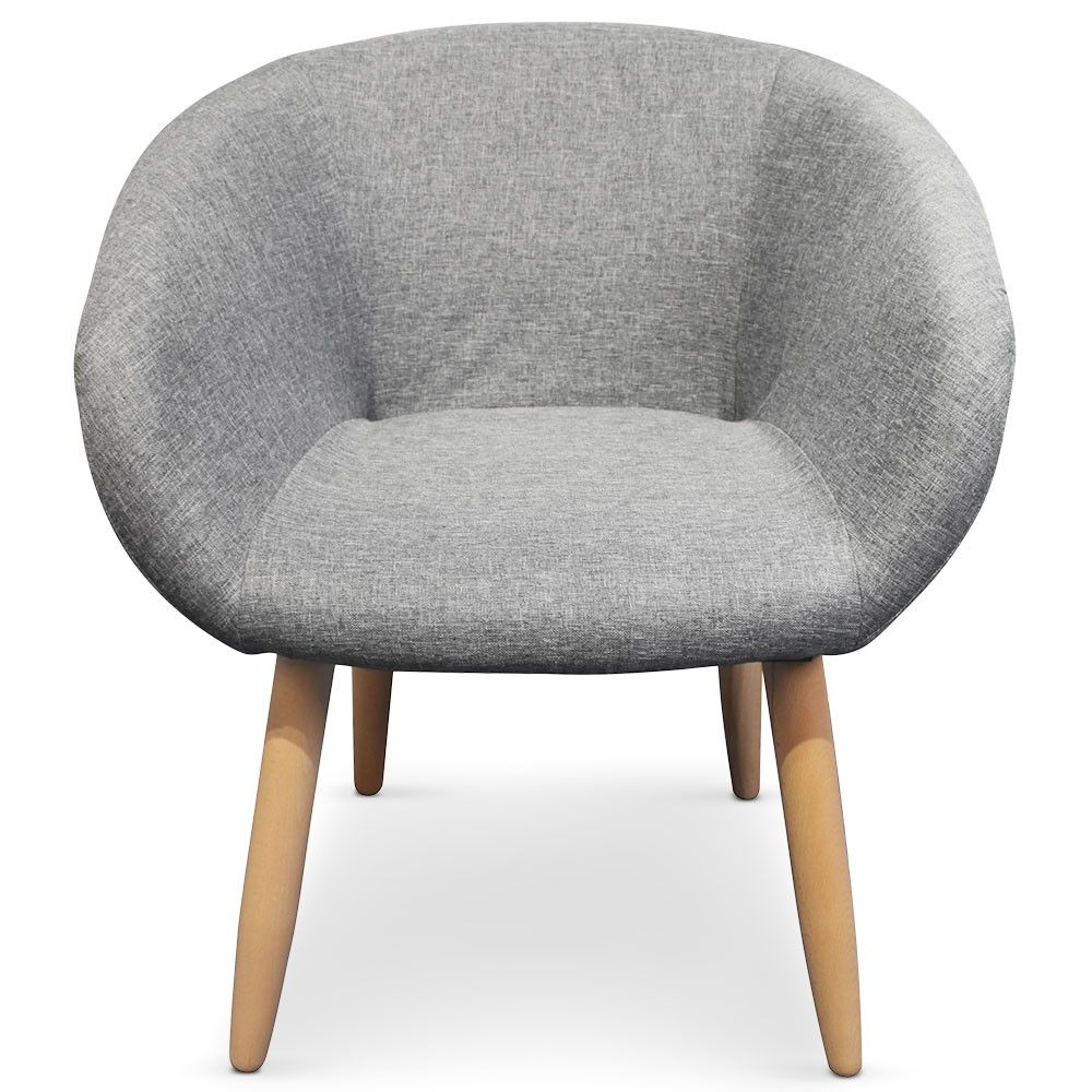 Chaise Fauteuil Style Scandinave Frost Gris Fauteuil Style Scandinave Chaise Fauteuil Et Fauteuil Scandinave