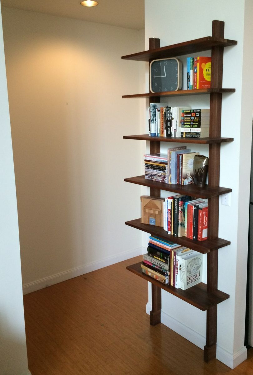 Minimalist Bookshelf Simple Bookshelf Minimalist Bookshelves Bookshelves Diy