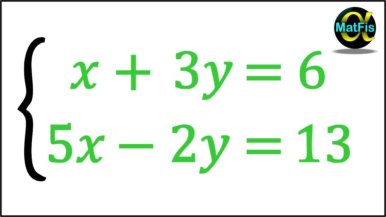 Sistema De Ecuaciones De 2x2 Método De Sustitución Sistemas De Ecuaciones Ecuaciones Proyectos De Matemáticas