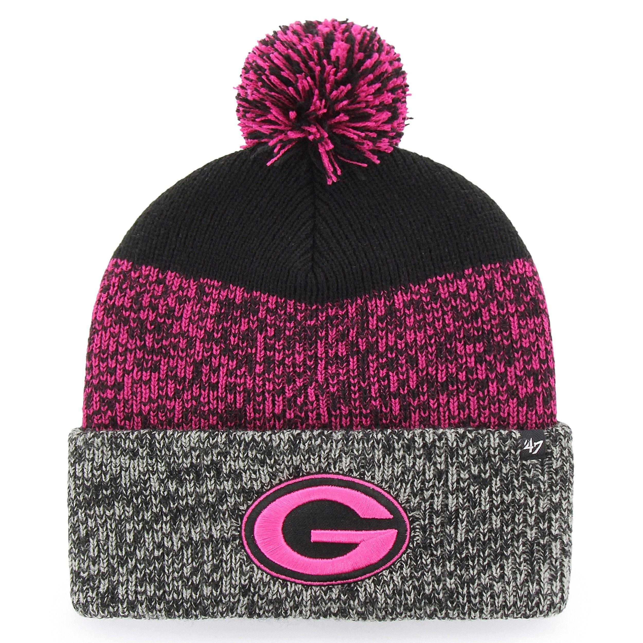 72b9dd00e8f Green Bay Packers  47 Women s Static Cuff Knit Hat