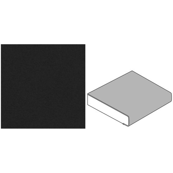 Küchenarbeitsplatte 60 Cm X 39 Cm Kaviar P 111 Im Obi