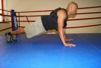 weight vest push up  home gym exercises fun workouts