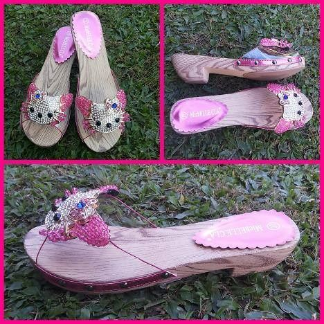 sandal selop Hello Kitty type 5872-16 @ 250 uk 36 - 39