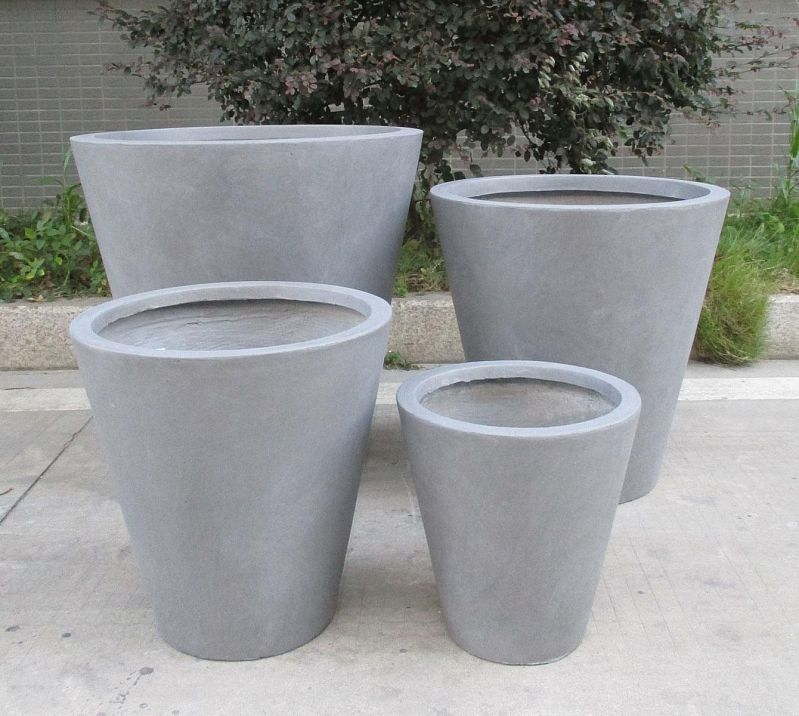 PACK OF 4 ROUND PLASTIC PLANT POT QUALITY 10CM COLOUR GARDEN //INDOOR POTS GREEN
