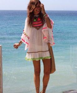 b40ceb483 Kaftan Isla Bonita fluor – Ibiza Trendy | Tienda online | Online ...