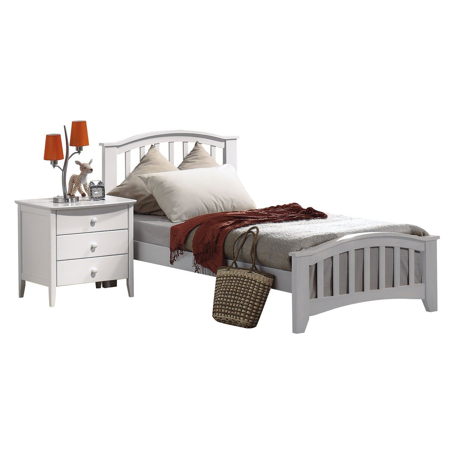 San Marino Kids Bed - White(Twin) - Acme