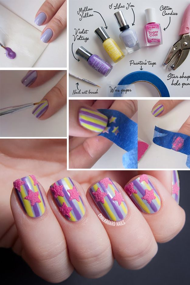 33 Unbelievably Cool Nail Art Ideas Do It Yourself Today