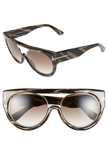 40aa7be1bf Tom Ford  Alana  55mm Modified Aviator Sunglasses available at  Nordstrom