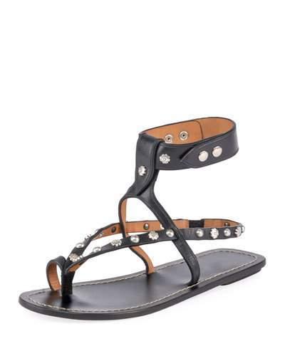Isabel Marant Engo Ring-Toe Sandals