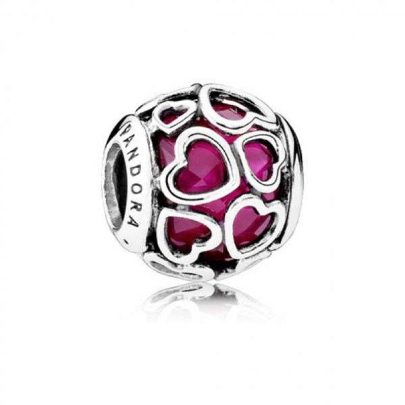 Charm Pandora Coraz U00f3n Cereza Enamorado 792036ncc