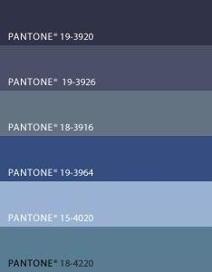 Pantone Color For Steel Blue Google Search