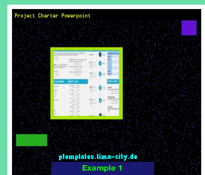 Project Charter Powerpoint Powerpoint Templates 134746 The Best