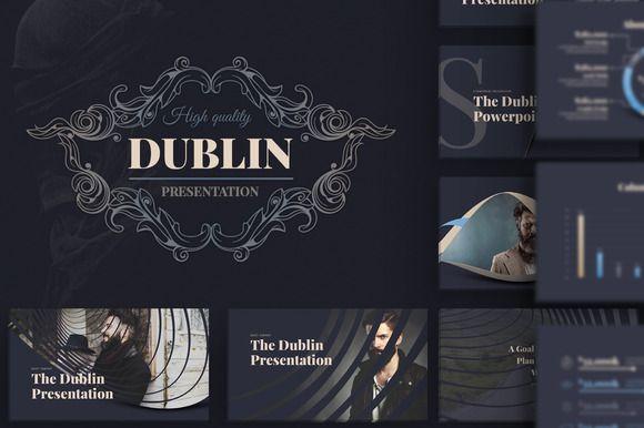 Dublin Powerpoint Presentation By DublinDesign On Creativemarket