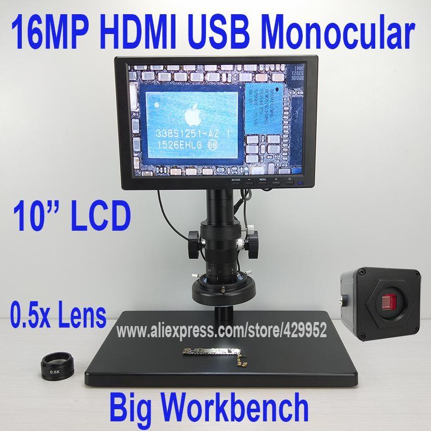 800x Usb Digital Lcd Microscope 4 3 Inch Hd Oled Portable 8 Led Vga Camera Video Microscopes Soldering Mikroskop Magnifier Usb Computer Repair Lcd