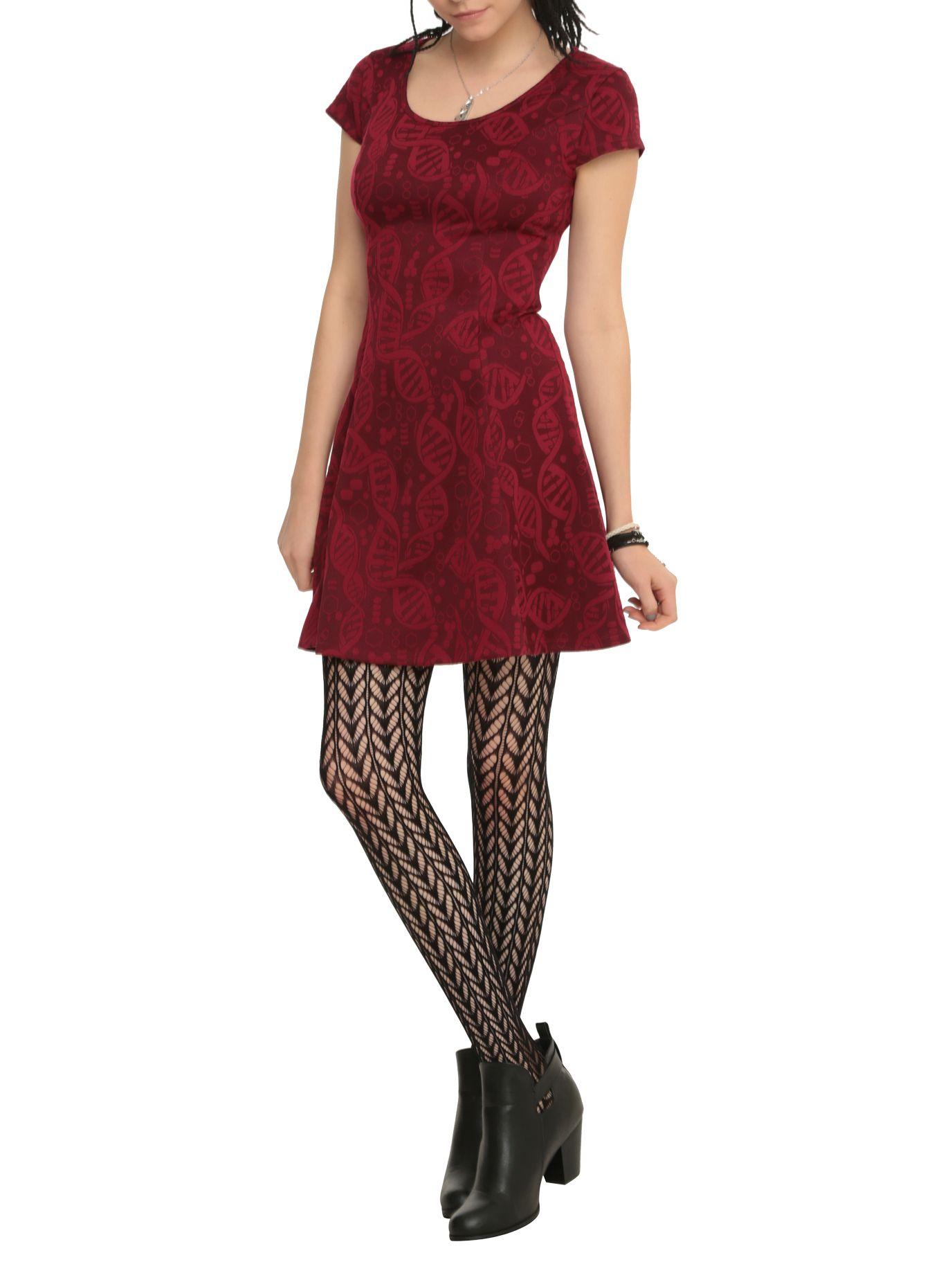 Orphan Black Fit Amp Flare Dress Kleidung
