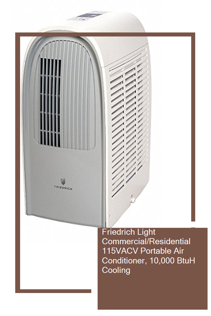 Friedrich Light Commercial Residential 115vacv Portable Air Conditioner 10 000 Btuh Cooling