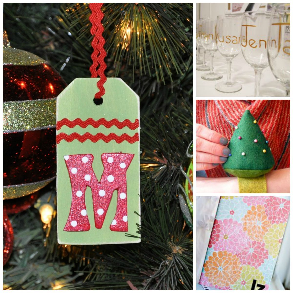 Creative Christmas Gift Wring Easy Craft Ideas